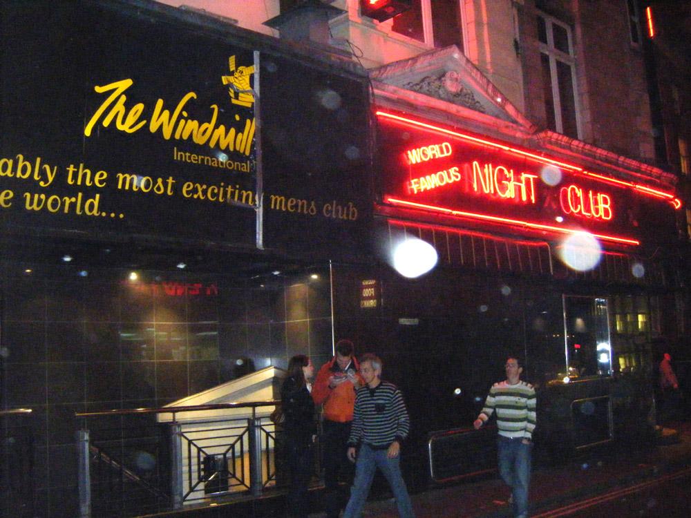 Windmill Theatre Strip Club