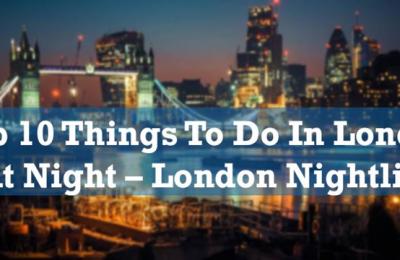 BEST NIGHT CLUBS IN LONDON